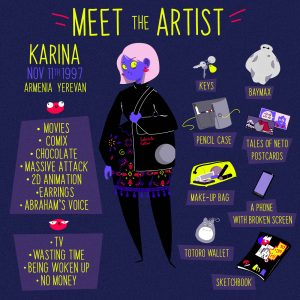 #Spotlight: Karina's Multicolored World of Comics