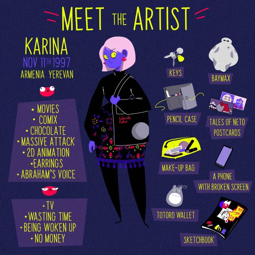 #Spotlight: Karina's Multicolored World of Comics