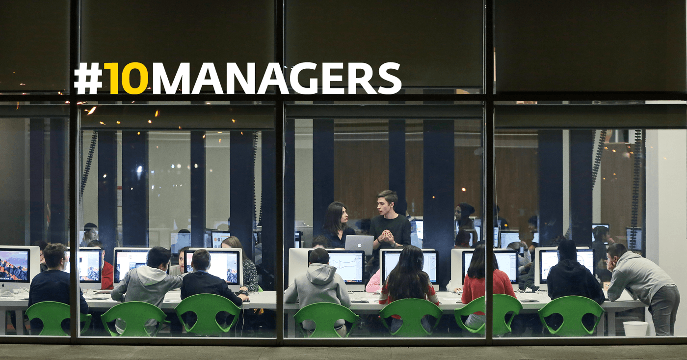 managers page - Hiring 10 Managers