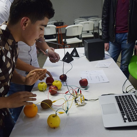 Robotics with Arsen Petrosyan and Alexand​​r​​​ Bratchikov