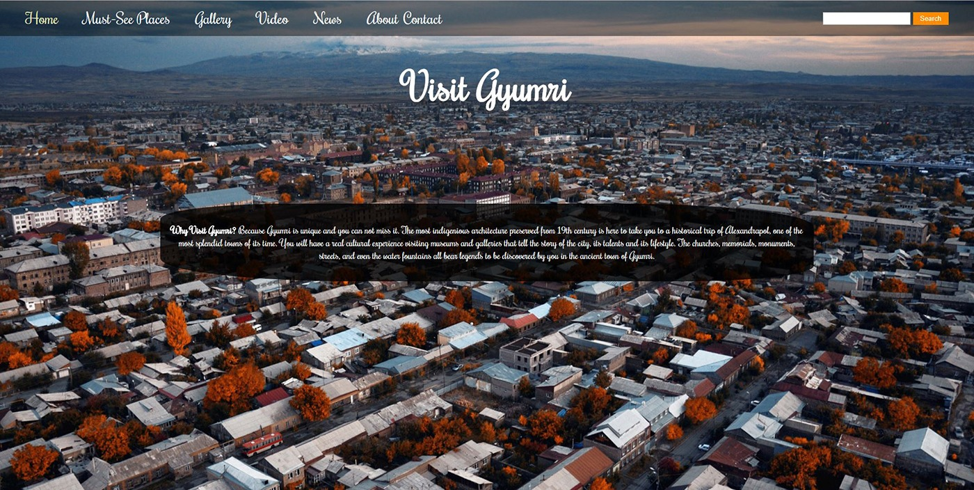 1 4 - Visit Gyumri Website