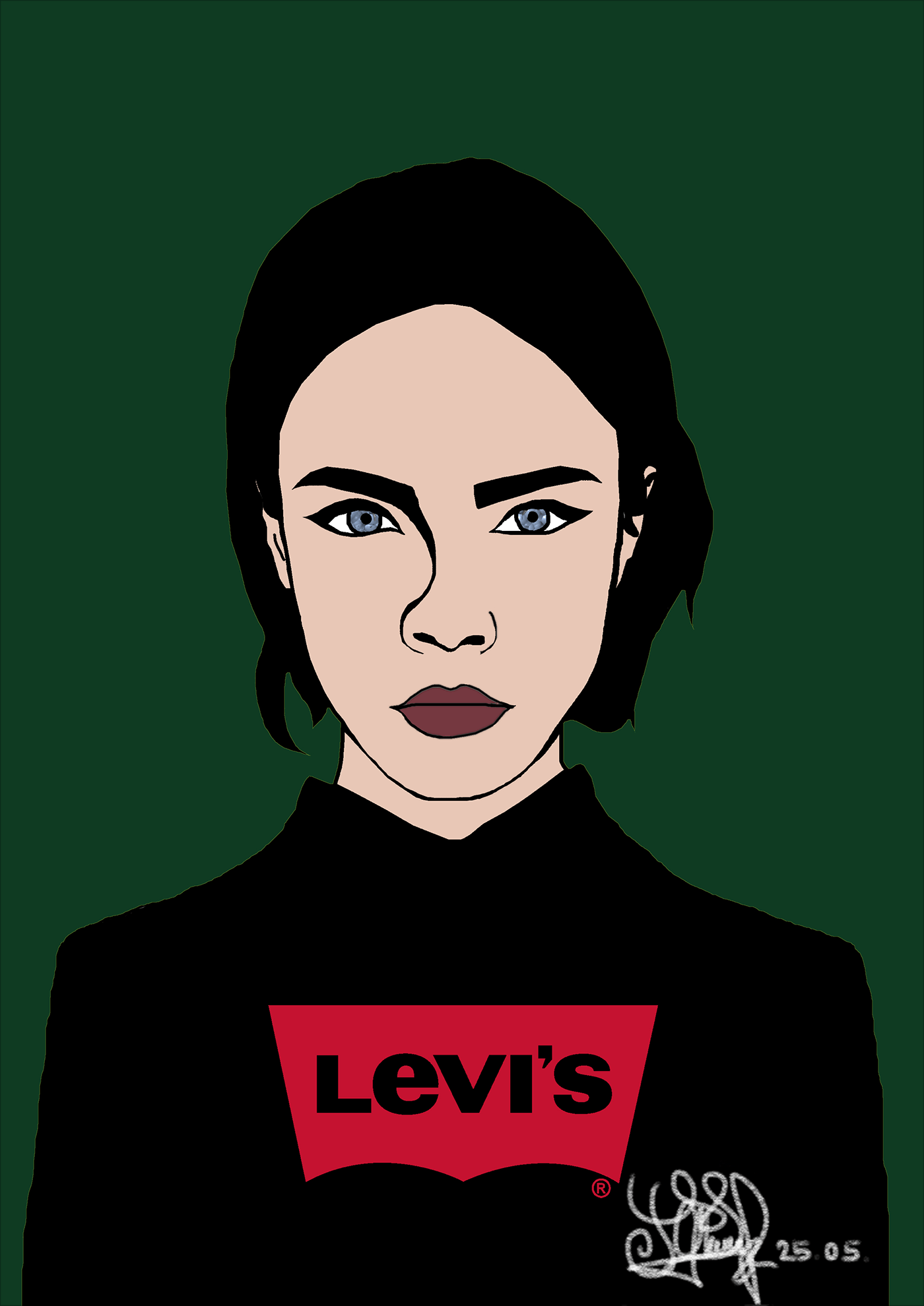 levisgirl - Pop Art and Canvas