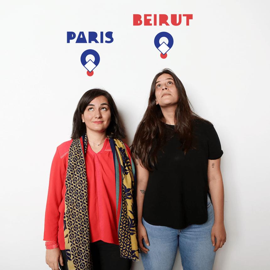 Փարիզ – Բեյրութ. Միջազգային Թումոների ղեկավարներ Արիանն ու Լաման