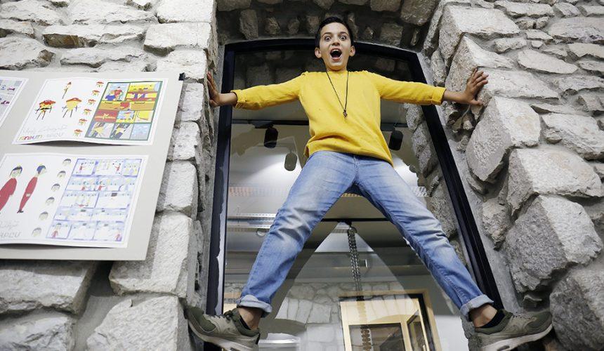 Արտյոմ Աբրահամյան. Ստեփանակերտի կինոուրբաթների «քայլող գովազդը»