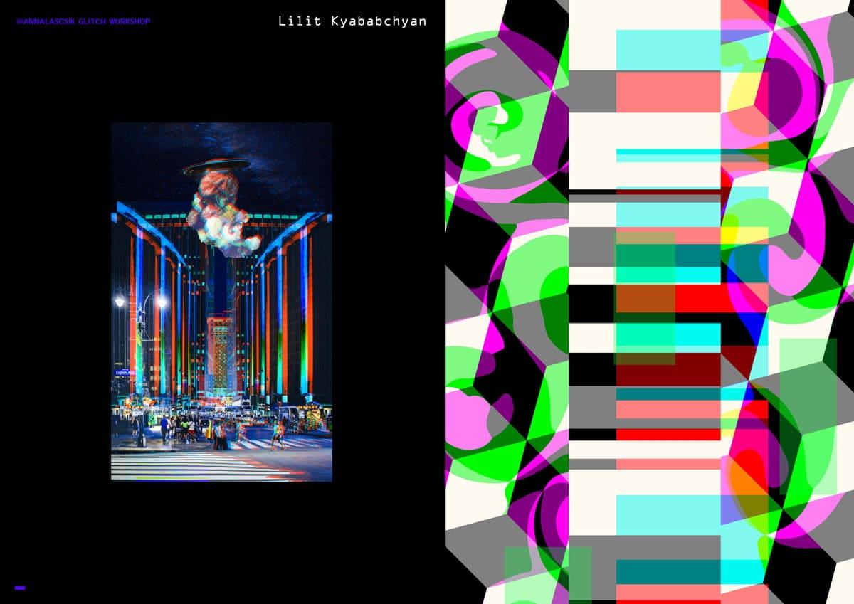 tumo presentation 22 - Գլիտչ արվեստ Աննա Լաշիկի հետ