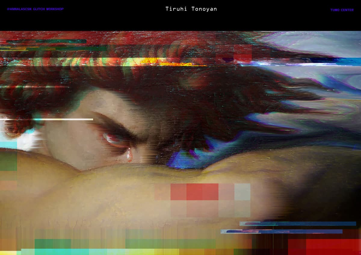 tumo presentation 43 - Glitch Art with Anna Lascsik