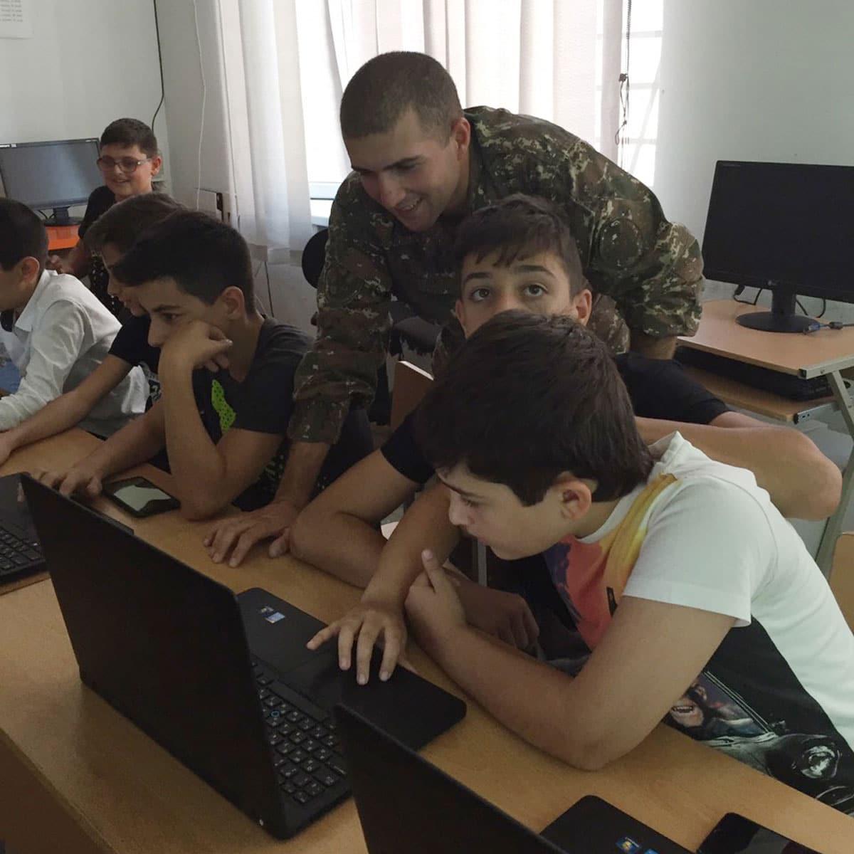 IMG 7b43016eb6aaf07f590999b54ed3e92b V 1 1 - From TUMO to the Army: Hayk Kocharyan Takes Tech to Agarak