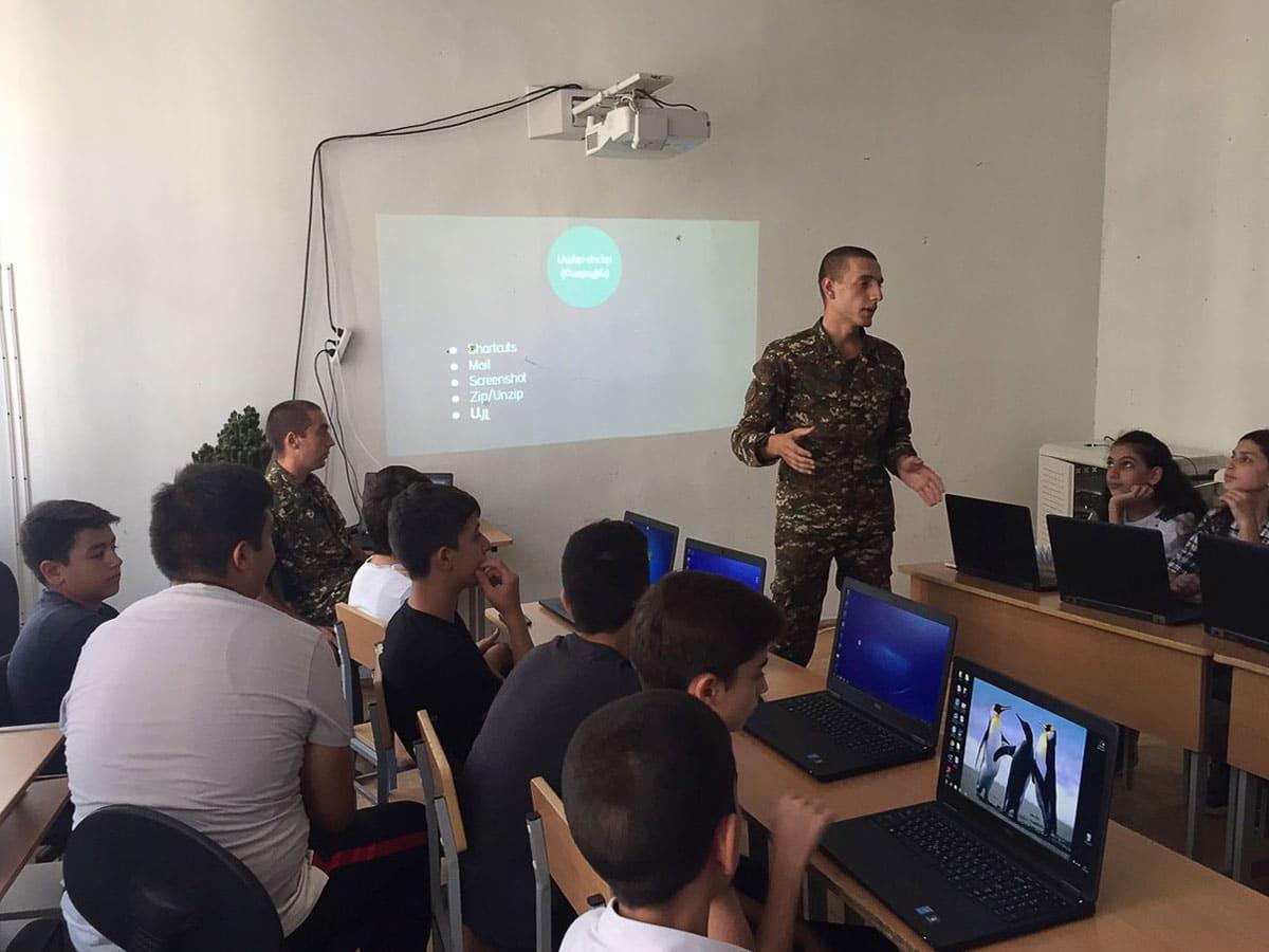 IMG 8648dc6724906751efa5f6930e314cc7 V 1 1 - From TUMO to the Army: Hayk Kocharyan Takes Tech to Agarak