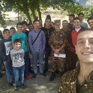 From TUMO to the Army: Hayk Kocharyan Takes Tech to Agarak