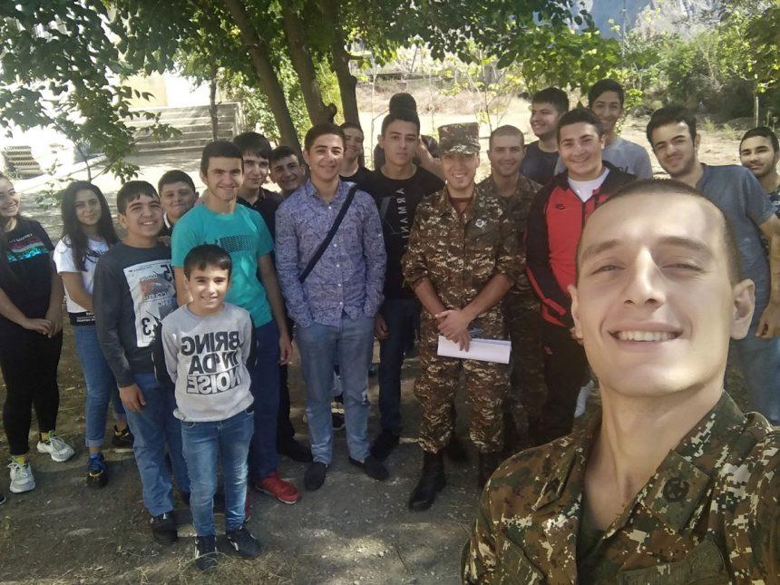 From TUMO to the Army: Hayk Kocharyan Takes Tech to Agarak