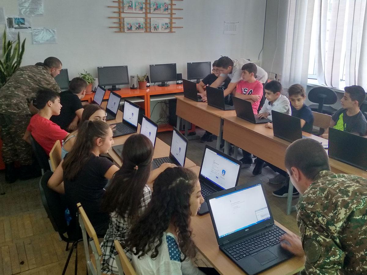 IMG 20190916 164328 1 1 - From TUMO to the Army: Hayk Kocharyan Takes Tech to Agarak