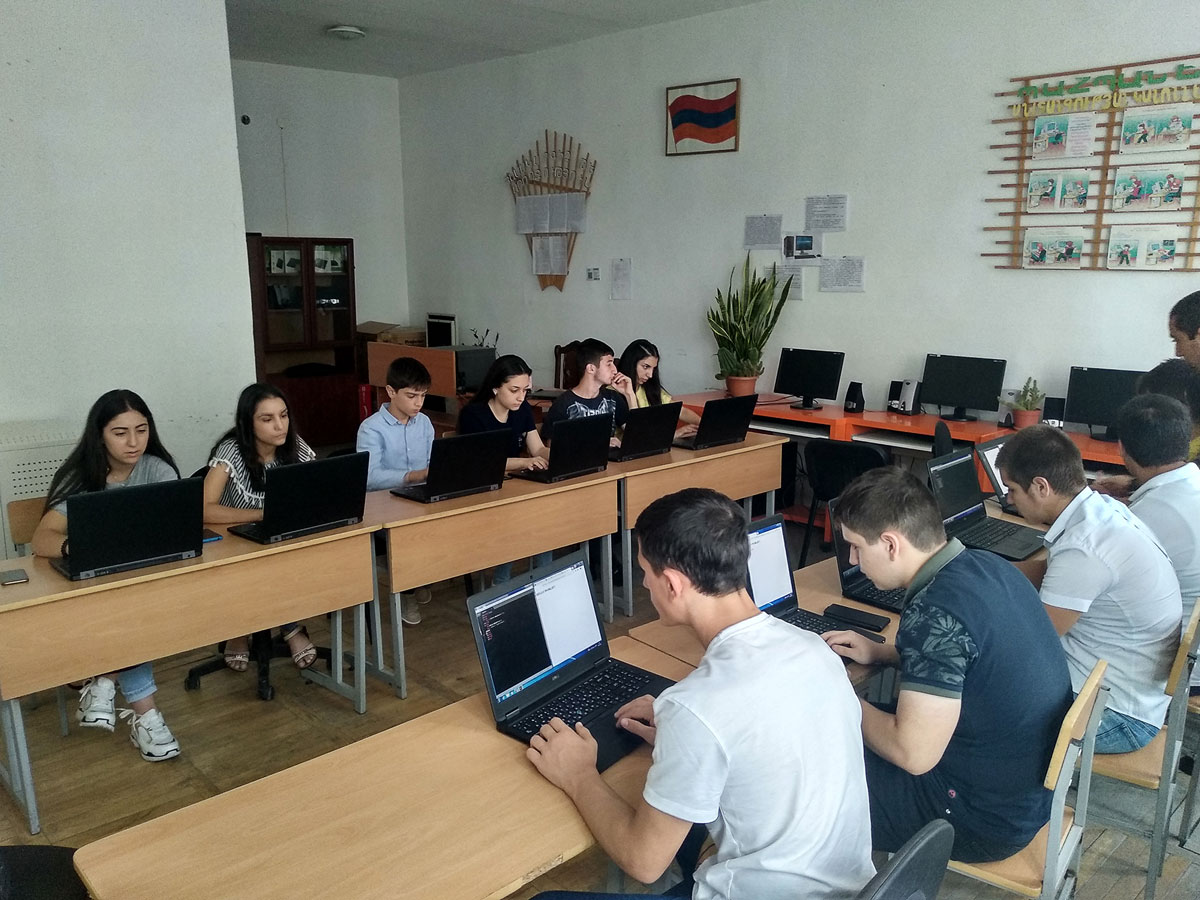 IMG 20190926 165920 1 1 - From TUMO to the Army: Hayk Kocharyan Takes Tech to Agarak