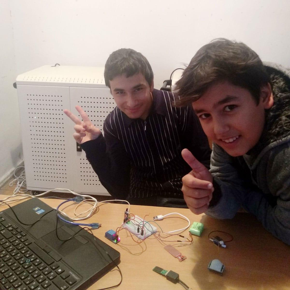 IMG 20191023 175736 1 1 - From TUMO to the Army: Hayk Kocharyan Takes Tech to Agarak