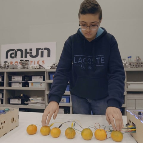 Musical Tangerines with Emilien Ghomi