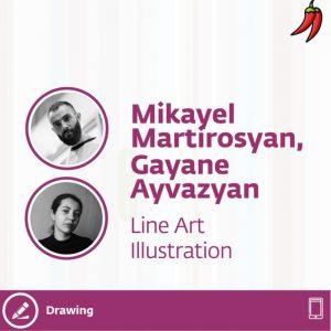 Line Art Illustration