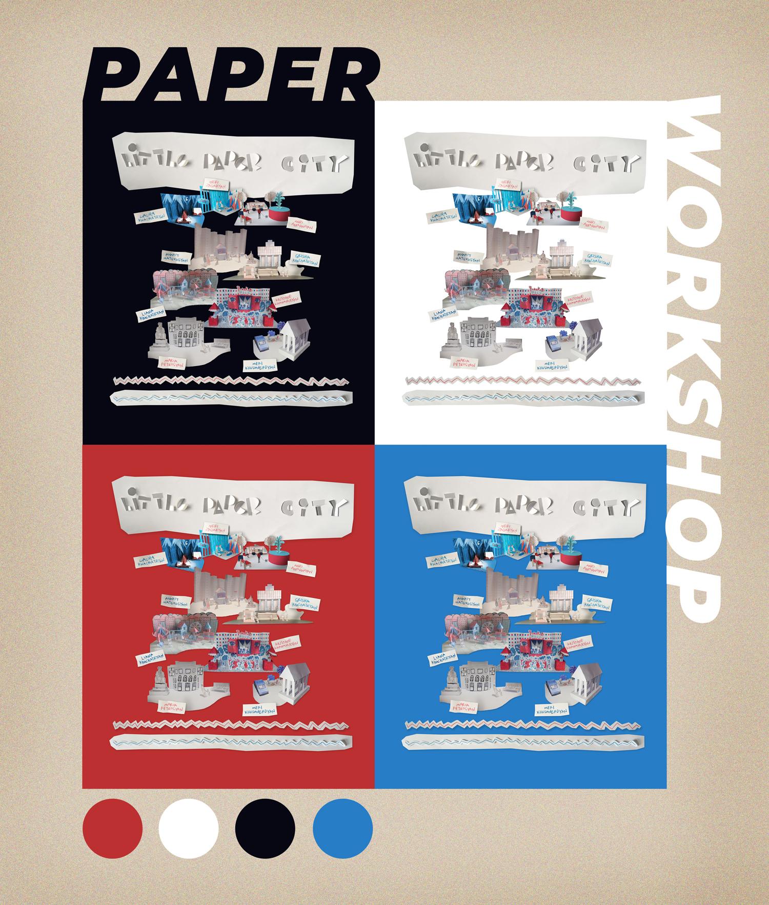 collage palette1 small - Փոքր թղթե քաղաքներ տանը