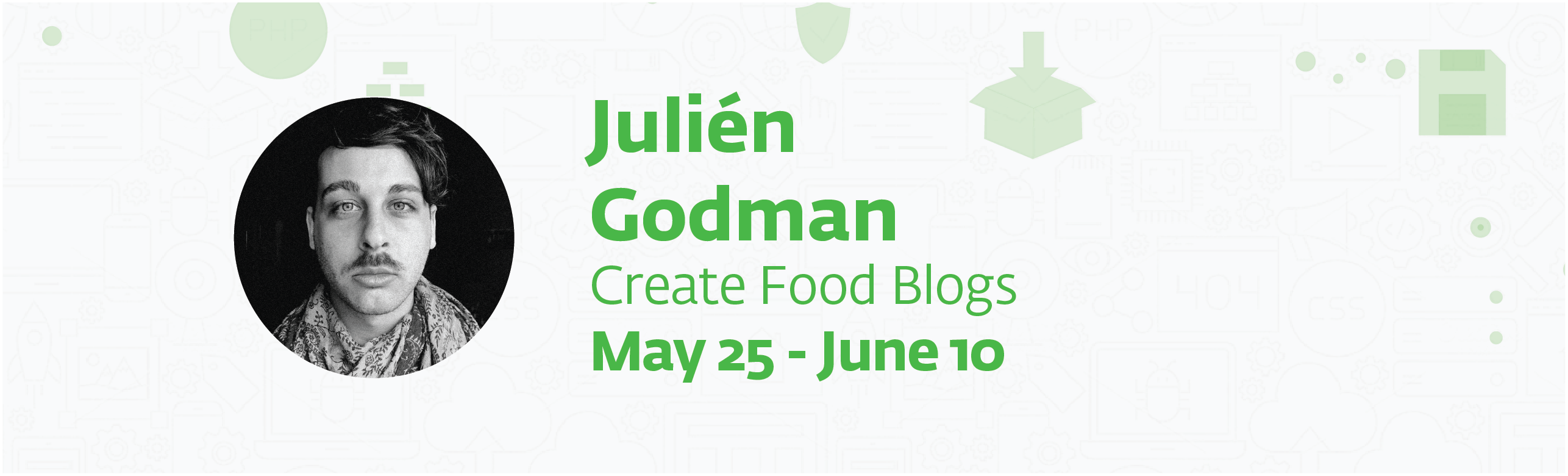 each page 30 - Create food blogs with Julién Godman