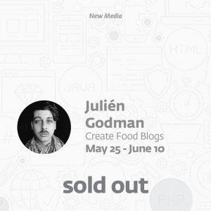 Create food blogs with Julién Godman