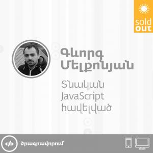 Տնական JavaScript հավելված