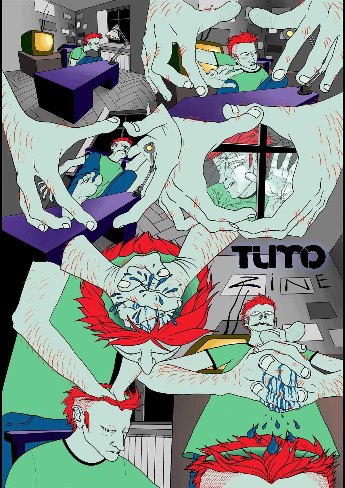 0 cover lusine torgomyan - TumoZine Comics with Shamiram Khachatryan