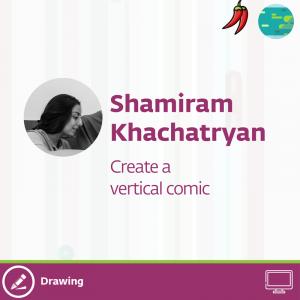 Create a vertical comic