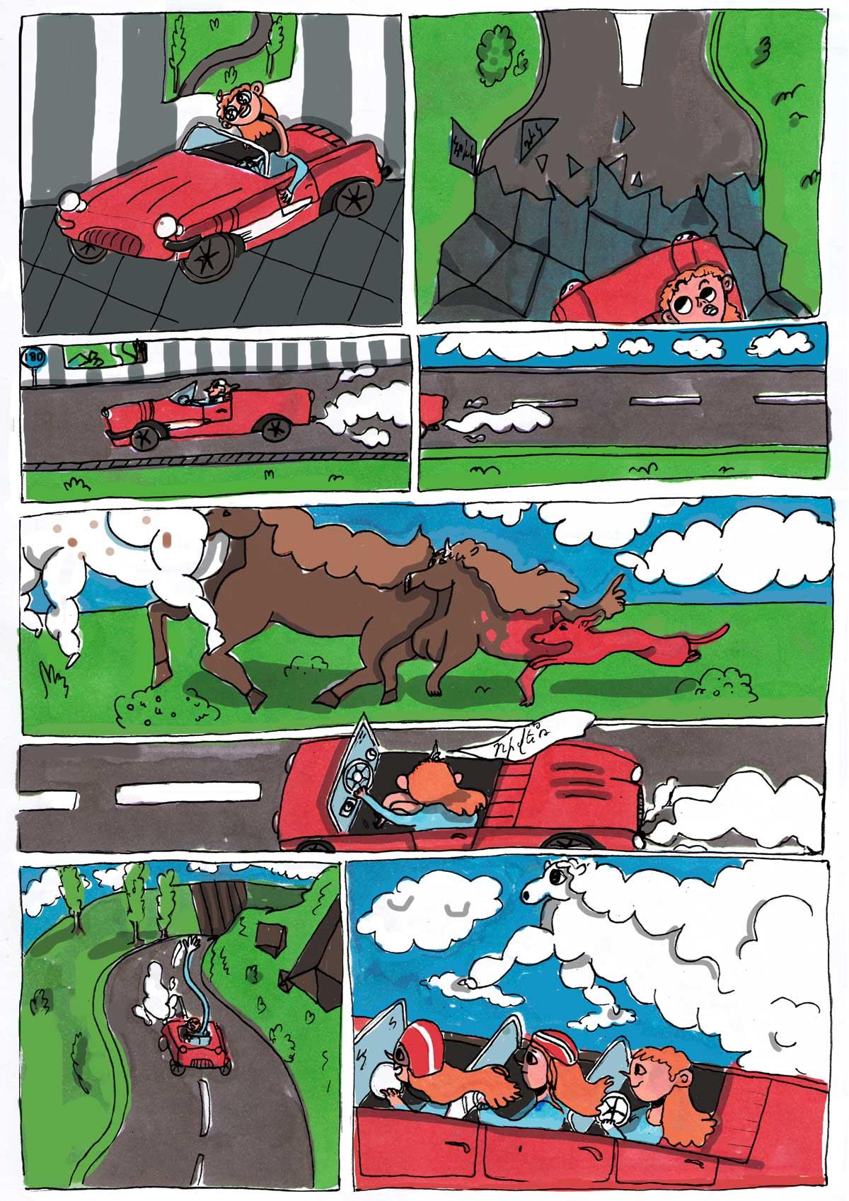 arpi babayan 2 - TumoZine Comics with Shamiram Khachatryan