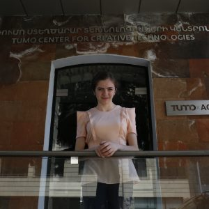 To Write All The Codes: Araqsya from TUMO Stepanakert
