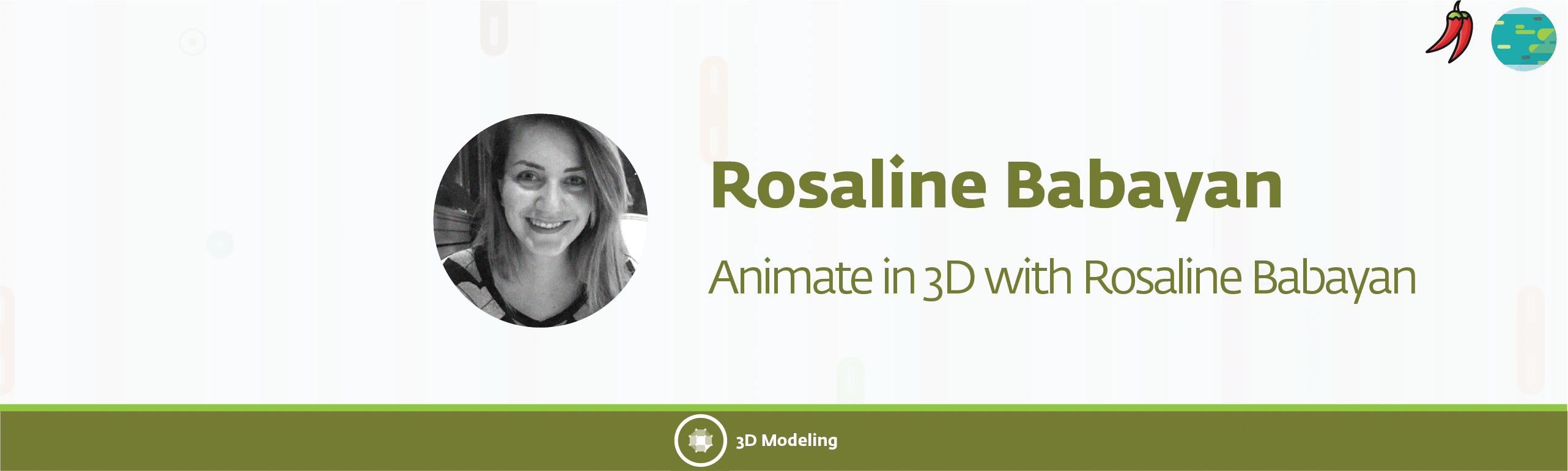 rosaline banner 36 - Animate in 3D with Rosaline Babayan