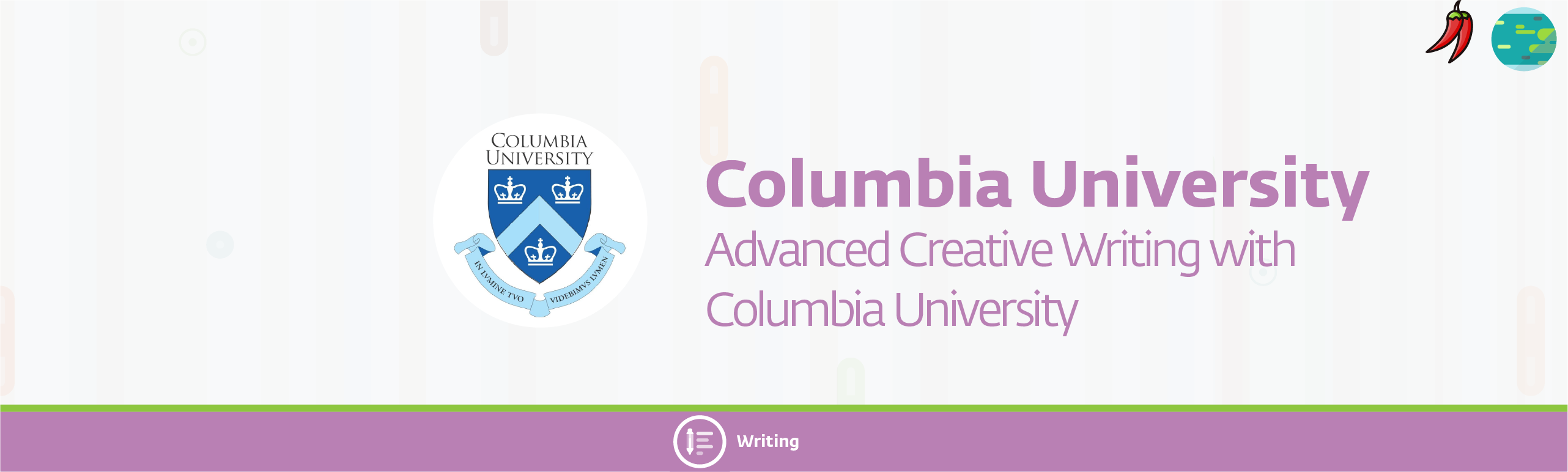 columbia 1 33 - Advanced Creative Writing with Columbia University