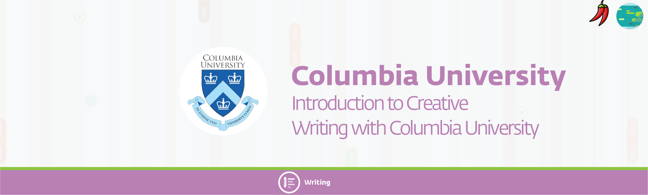 columbia 2 37 - Introduction to Creative Writing with Columbia University
