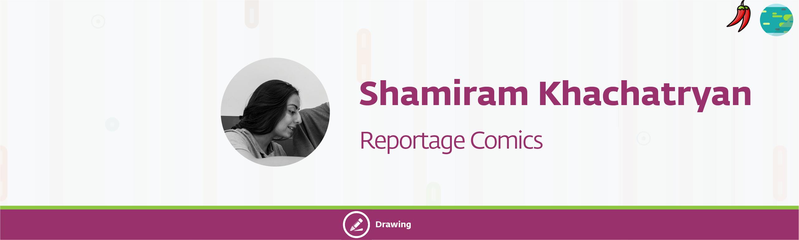 shamiram b 29 - Reportage Comics