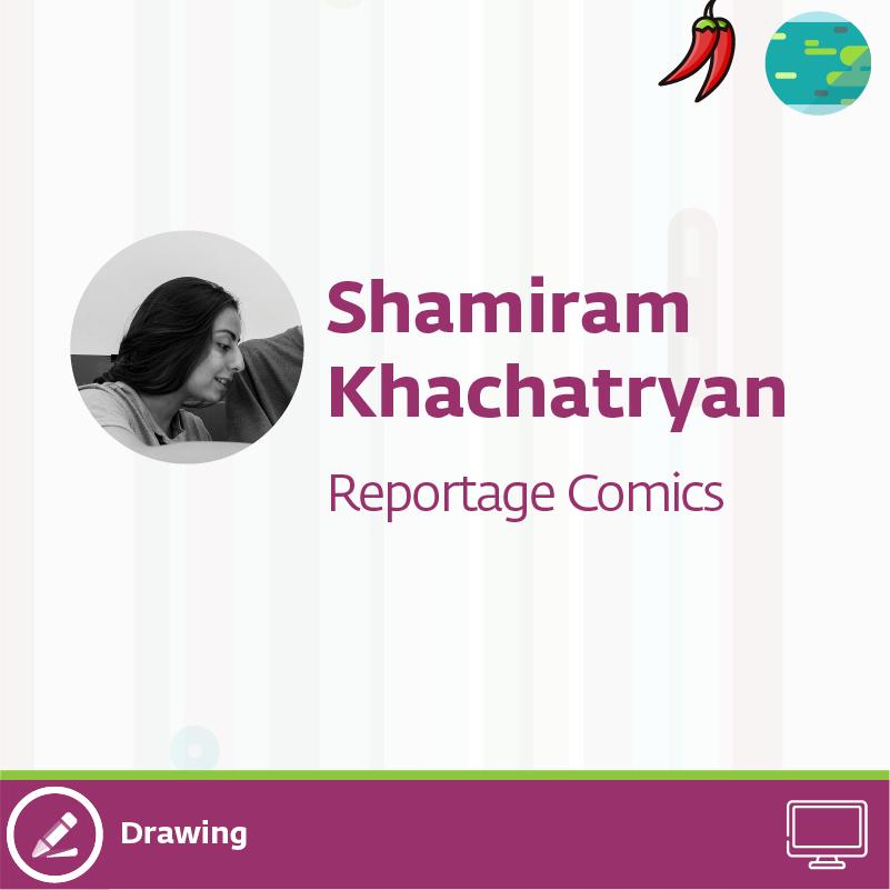 shamiram q 32 - Reportage Comics