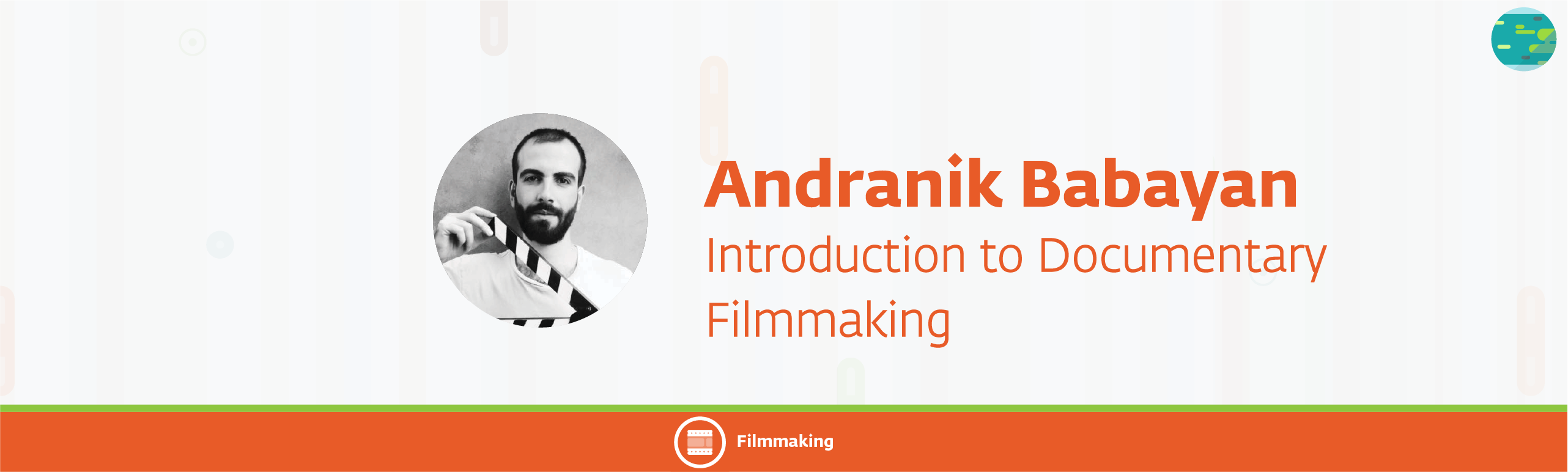 andranik babayan 51 - Introduction to Documentary Filmmaking