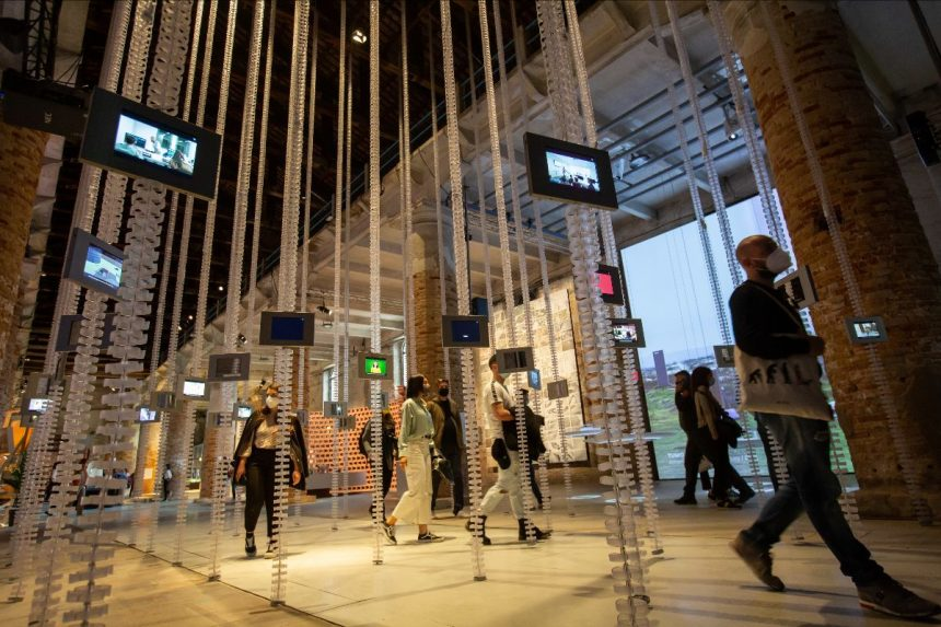 TUMO's Installation Presented at the Biennale Architettura 2021